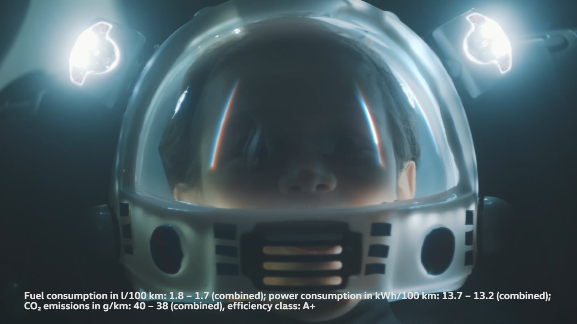 Volkswagen 'Tiny Astronaut'